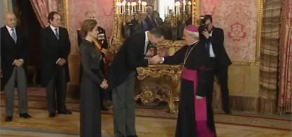 Recepción al Cuerpo Diplomático acreditado en España, enero 2015
