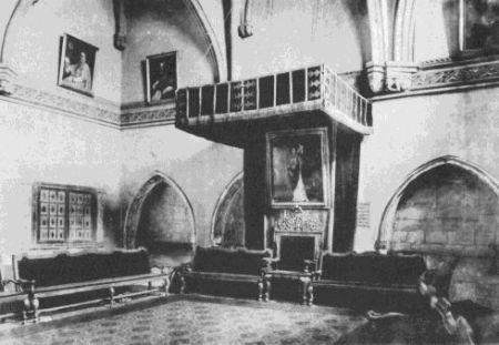 Sala capitular de la Catedral, donde se celebraban las reuniones de la Junta General