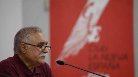 José Luis Iglesias en un acto en La Nueva España