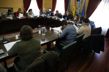 pleno del ayuntamiento de langreo 31/3/2016 foto: Juan Carlos Román