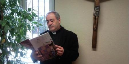 Fernando Llenín, párroco de San Francisco de Asís