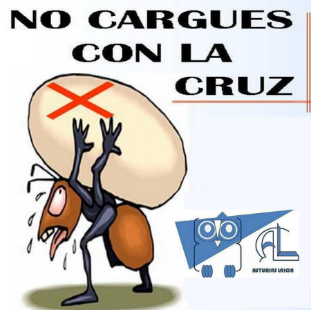 no cargues con la cruz