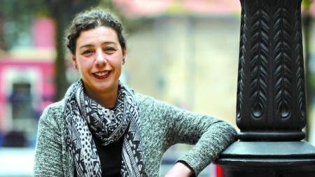 Cristina Pontón, concejala de IU