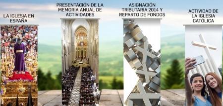Imagen de la web de la Conferencia Episcopal española
