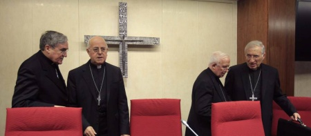 El presidente de la Conferencia Episcopal, Ricardo Blázquez // Víctor Lerena. EFE