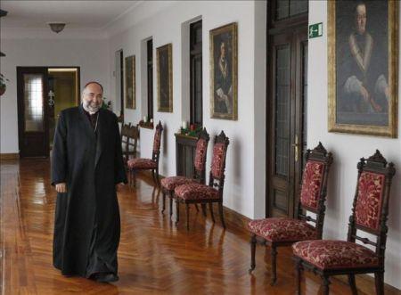 Jesús Sanz Montes en el palacio arzobispal