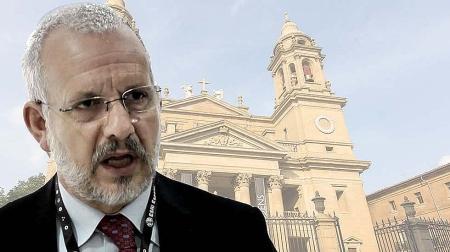 Andrés Valentín, portavoz de la Palataforma de Defensa del patrimonio Navarro